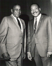 Terry Francois and Martin Luther King